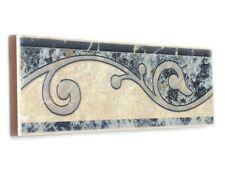 Fliesenbordüren 22,8x7 cm Fliesenbordüre Fliesen Bordüren Bordüre Telma T2 azul