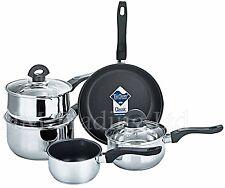 Xylan 5 Pcs Non-Stick Induction Saucepan Cookware Cooking Pan Pot Set