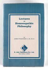 LECTURES ON HOMOEOPATHIC PHILOSOPHY James Tyler Kent (1991) - HARDBACK