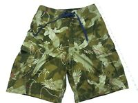 American Eagle Cargo Board Shorts Swimsuit Mens Size 26 Camouflage Camo