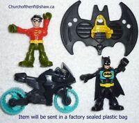 New Fisher Price Imaginext Batman Batcave Replacement Parts and Figures
