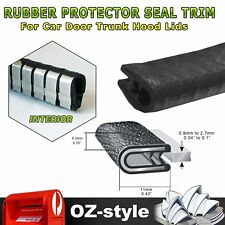 5M Pinch Weld w/ Metal Clip Rubber Seal Trim Car Door Edge Protects Weatherstrip