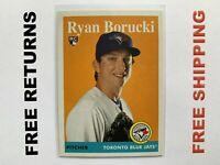 2019 Topps Archives RC Card #58 Ryan Borucki Toronto Blue Jays MLB
