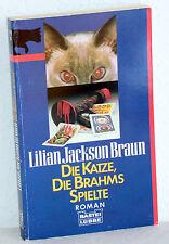Lilian Jackson Brown - DIE KATZE, die Brahms spielte