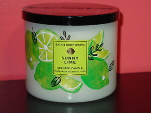 BATH & BODY WORKS THREE WICK SCENTED CANDLES W/ESSENTIAL OILS *CHOOSE* FREE SHIP