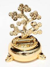Money Fortune Coin Dancing Tree / Plant Flip Flap For GREAT Wealth Feng Shui