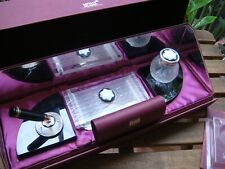 Montblanc 1991 Limited Edition 4810 Lalique Crystal Writing Desk Set  PARIS MADE