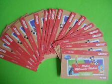 """REWE Disney """"Meine Mitmach Sticker"""" SAMMELBILDER Sticker 24 Tüten Bilder OVP"""