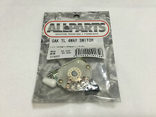 NEW ALLPARTS OAK TL 4WAY MOD Pickup Selector Switch Telecaster Guitar Parts