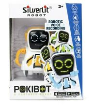 Silverlit  POKIBOT PORTABLE ROBOT Interactive APP Inc. Robotic Voice Recording