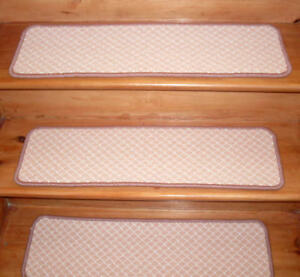 13 / 14 = Step 9'' x 29'' - 36'' + Landing Stair Treads Wool Blend Choose size