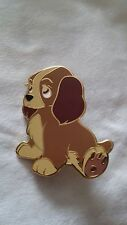 Disney Inspired Fantasy Pin - Pouty Lady - Lady and the Tramp Dog Puppy