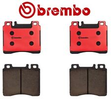 Front Brake Pad Set Ceramic Slotted Brembo For Mercedes-Benz C140 W140 S Class