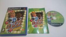 JUEGO BUZZ EL GRAN CONCURSO DE DEPORTES PLAYSTATION 2 PS2 PAL ESPAÑA