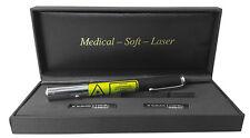 Soft-Laser bei Akne Herpes Narben Warzen und Tinnitus