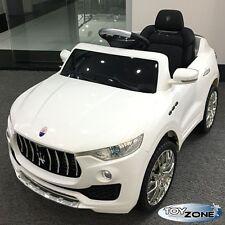 Kinderfahrzeug Maserati Levante Kinder Elektro Auto 2,4 GHZ RC Steuerung