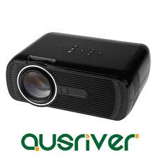 New HD Home Cinema Theather Intelligent LED Mini Projector AV USB HDMI SD VGA TV