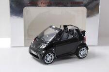 1:18 Kyosho Smart Fortwo Cabrio Brabus black DEALER NEW bei PREMIUM-MODELCARS