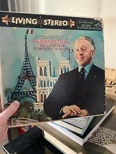 LP Rubinstein Wallenstein Symphony of the Air RCA Red Seal LSC-2234