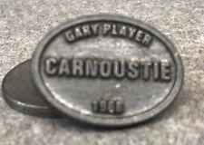 1968 British Open Gary Player Golf Ball Marker (Carnoustie) Stemmed