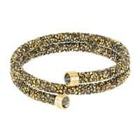 Swarovski Women's Bracelet Crystaldust Multicolored Double Wrap, Medium 5348103