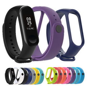 For Xiaomi Mi Band3 Wrist Strap Silicone Smart Bracelet Belt Colorful Wristband