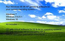Ejecute Windows XP   95 98 juegos y software en   Windows 7 8 10