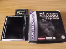 PLANET OF THE APES - Gameboy Advance Game - ALL BOOKLETS/BOX included