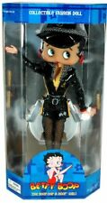 "Betty Boop Racing Girl Doll 12"" Collectiable  Figure New Biker Car Show"