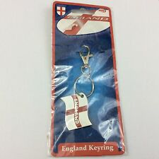 England enamel key ring - st george - key chain - football - world cup