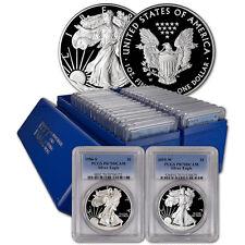 29-pc. 1986 - 2015 American Silver Eagle Proof Complete Date Set  PCGS PR70 DCAM
