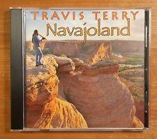Navajoland by Travis Terry, Music CD, Navajo, Cedar Flute, Native American