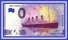 Billet Touristique Souvenir 0 euro - Irlande - RMS TITANIC 2020 Anniversaire