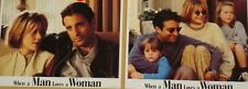 WHEN A MAN LOVES A WOMAN - 11x14 US Lobby Cards Set - Meg Ryan, Andy Garcia