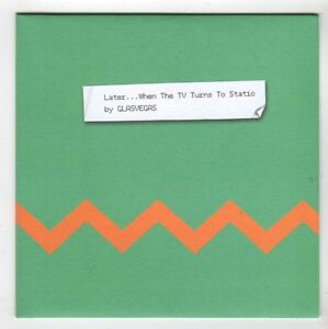 (GS206) Glasvegas, Later When The TV Turns To Static - 2013 DJ CD