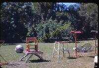 Ringling Brothers Circus Museum 1950s 35mm Slide Vtg Kodachrome Equipment Chair