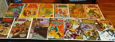 13 Vintage Silver To Copper Age Indepdndent  Comic Book Lot