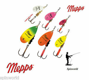 Mepps Aglia FLUO variety sizes & colours Original Mepps straight from France