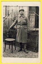 cpa Carte Photo MILITAIRE SOLDAT du 82e Régiment Uniforme Casque Grenade