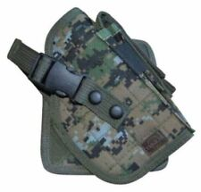 Deluxe Cross Draw Woodland Digital Right Molle Pistol Holster Gun Tactical 244WR