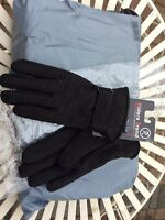 Riders Trend Luxury Nubuck Suede Leather Horse Riding Gloves Thinsulate Lining S