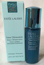 New! Estee Lauder New Dimension Shape + Fill Expert Serum 0.24 oz, $22 Value