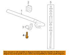 GM OEM Stabilizer Sway Bar-Front-Stabilizer Sway Bar Bolt 11609701