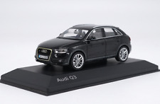 1/43 Audi Original manufacturer  black Audi Q3 alloy car model gift collection