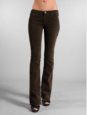 AG Adriano Goldschmied Stretchy Soft Dk Brown Casablanca Corduroy Pant Jeans 29