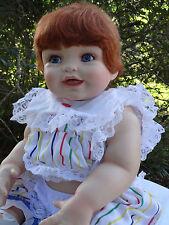"FULL Porcelain 21"" ""Cindy"" Baby Doll by Cindy Marschner Rolfe"
