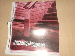 vintage poster skateboard strange notes santa cruz independent 2000? ..M