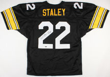 Duce Staley Signed Steelers Jersey (TriStar Hologram) Super Bowl XL Champion