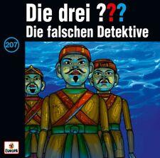 DIE DREI FRAGEZEICHEN ??? - Folge 207 Die Falschen Detektive CD NEU & OVP