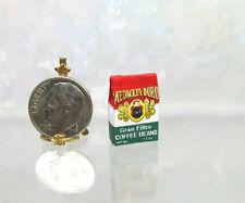 Dollhouse Miniature Coffee Beans Bag
